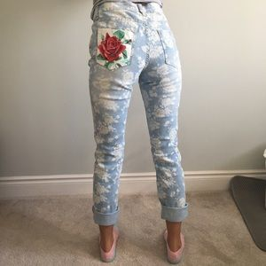 Re-worked jeans